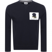 Product Image for Kent And Curwen 1926 Icon Sweatshirt Blue