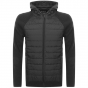 Barbour International Albie Baffle Jumper Black