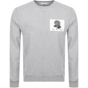 Product Image for Kent And Curwen 1926 Icon Sweatshirt Grey