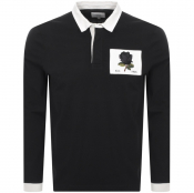 Product Image for Kent And Curwen Stokes Rugby Polo T Shirt Black