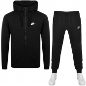 Product Image for Nike Standard Fit Logo Tracksuit Black