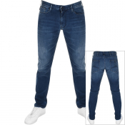Product Image for Emporio Armani J06 Slim Fit Jeans Navy