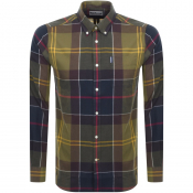 Product Image for Barbour Long Sleeved Tartan 5 Shirt Green