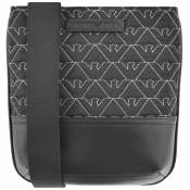 Emporio Armani Logo Shoulder Bag Black