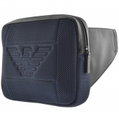 Product Image for Emporio Armani Logo Waist Bag Navy