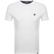Pretty Green Crew Neck T Shirt White