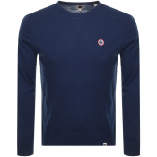 Product Image for Pretty Green Crew Neck Knit Jumper Navy