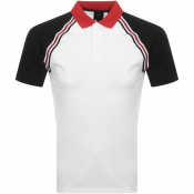 Armani Exchange Short Sleeved Polo T Shirt White