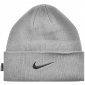 Nike Dri Fit Beanie Hat Grey