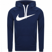 Product Image for Nike Training Swoosh Logo Hoodie Navy