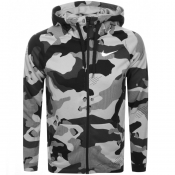 Product Image for Nike Training Camo Full Zip Hoodie Grey