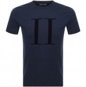 Product Image for Les Deux Crew Neck Encore T Shirt Navy