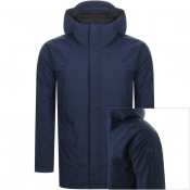 Product Image for Les Deux Charlous Parka Jacket Navy