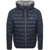 Product Image for Armani Exchange Hooded Down Jacket Navy