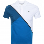 Product Image for Lacoste Sport Colour Block Polo T Shirt White
