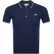 Lacoste Sport Tipped Polo T Shirt Navy
