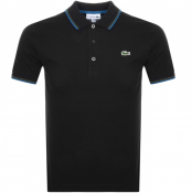 Product Image for Lacoste Sport Tipped Polo T Shirt Black