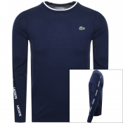 Product Image for Lacoste Sport Long Sleeved T Shirt Navy