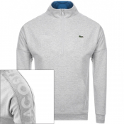 Product Image for Lacoste Sport Half Zip Sweatshirt Grey