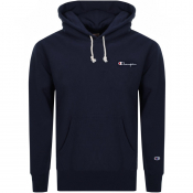 Product Image for Champion Logo Hoodie Navy