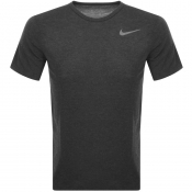 Nike Training Crew Neck Breathe T Shirt Grey