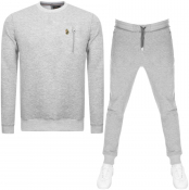 Product Image for Luke 1977  Paris And Rome Tracksuit Grey