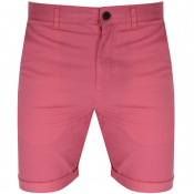 Jack Wills Slim Chino Shorts Pink