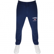 Tommy Jeans Washed Logo Jogging Bottoms Navy