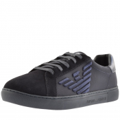 Product Image for Emporio Armani Logo Trainers Navy
