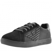 Product Image for Emporio Armani Logo Trainers Black