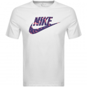 Nike Crew Neck EXP 3 Logo T Shirt White