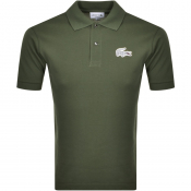 Product Image for Lacoste Short Sleeved Polo T Shirt Green