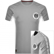 Alpha Industries Space Camp T Shirt Grey