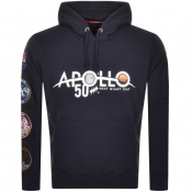 Product Image for Alpha Industries Apollo 50 Patch Hoodie Navy