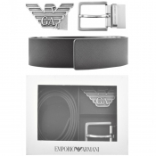 Product Image for Emporio Armani Reversible Belt Gift Set Black