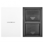 Emporio Armani Gift Set Card Holder And Wallet