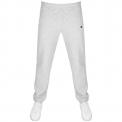 Champion Logo Jogging Bottoms Grey