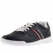 Tommy Hilfiger Leather Trainers Navy