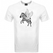 PS By Paul Smith Pegasus Logo T Shirt White