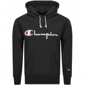 Product Image for Champion Logo Hoodie Black