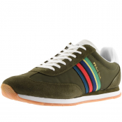 PS By Paul Smith Prince Trainers Khaki