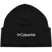 Product Image for Columbia Lifestyle Logo Beanie Hat Black