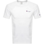 Product Image for Champion Crew Neck Logo T Shirt White