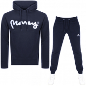 Product Image for Money Sig Ape Hooded Tracksuit Navy