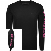 Columbia Long Sleeved North Cascades T Shirt Black