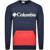 Columbia Fremount Crew Neck Sweatshirt Navy
