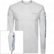 Columbia Long Sleeved North Cascades T Shirt White
