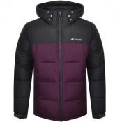Columbia Pike Lake Hooded Logo Jacket Purple