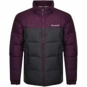 Columbia Pike Lake Padded Logo Jacket Purple