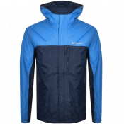 Columbia Pouring Adventure Jacket Navy